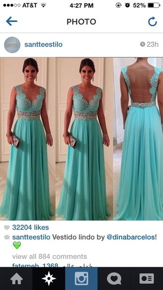 dress teal dress prom dress silver blue dress grad dress lace dress blue lace
