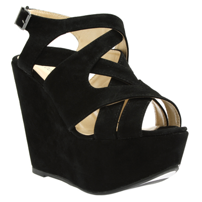 95ce241753f Black Strappy Wedge HW4 - Korky s Shoes