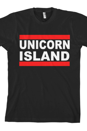 Unicorn Island Tee T-Shirt - IISuperwomanII T-Shirts -  Online Store on District Lines