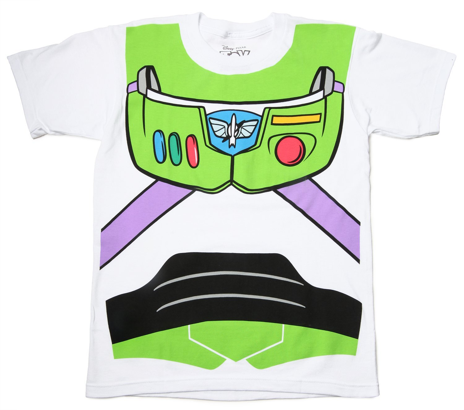 Amazon.com: toy story buzz lightyear astronaut costume white t