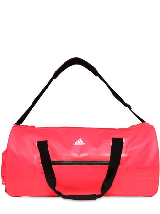 duffle bag water bag fluo red