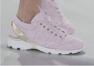 shoes chanel sneakers pastel sneakers pastel