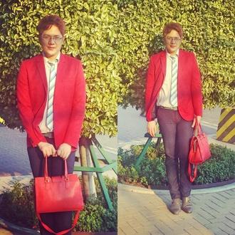 bag red bag