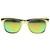 Hipster Platinum Gold Fashion Mirror Lens Wayfarer Sunglasses 8507