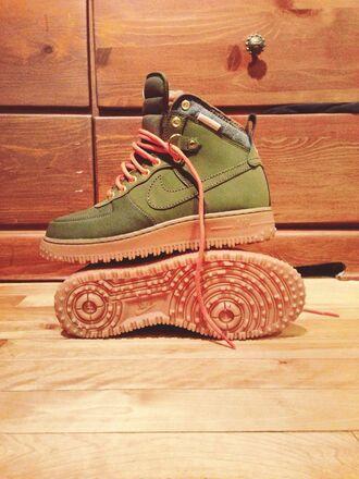 shoes nike khaki