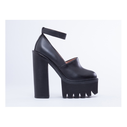 Jeffrey Campbell Scully Platform Black | eBay
