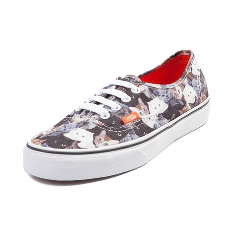 Vans x ASPCA Authentic Kitty Cat Skate Shoe in Multi | Shi by Journeys