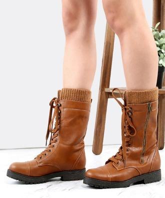 shoes girl girly girly wishlist boots combat boots brown brown boots brown combat boots fall outfits
