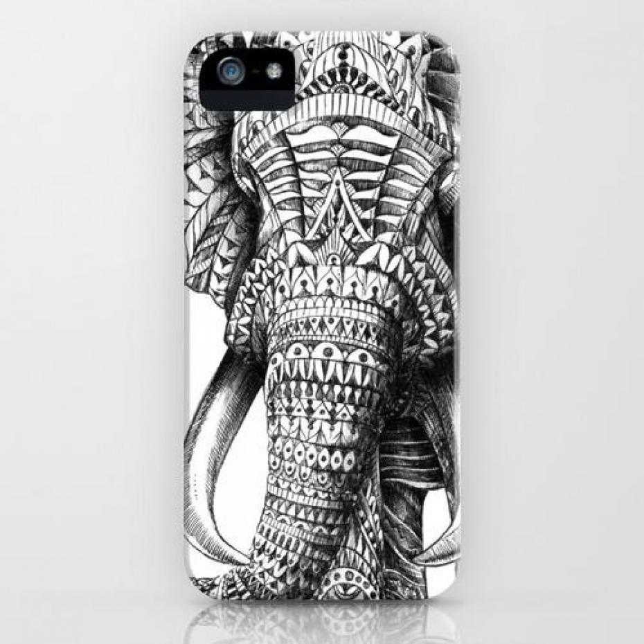 coque iphone 4 elephant