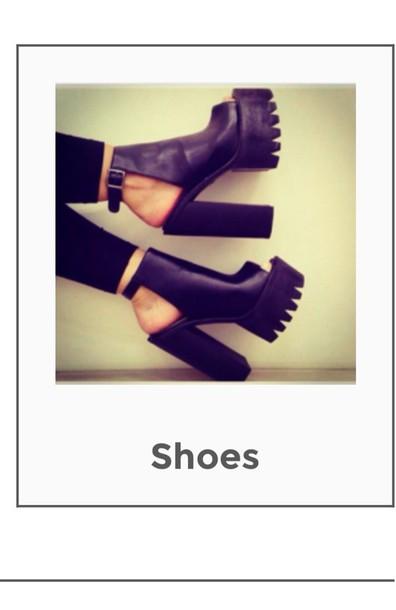 shoes chunky heels black chunky heel