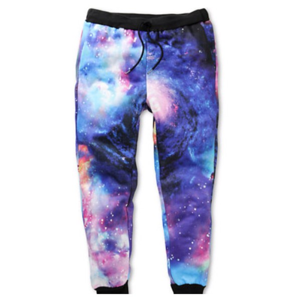 joggers galaxy print supernova jogger sweatpants style sweatpants zara blouse galaxy pants pants jeans sweatpants menswear xl joggers pants fitness gym atlethic fashion purple