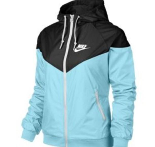 b268541f88 jacket windbreaker nike nike windrunner nike windbreaker blue mint top wind  runner black nike jacket