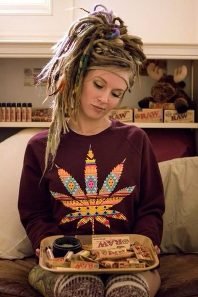 rasta hippie blouse dreads marijuana marijuana print marijuana leaf weed, marijuana, crop top, colorful