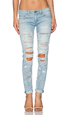 Rag & bone/jean the dre boyfriend in thrasher from revolveclothing.com