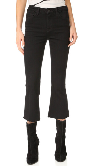 jeans flare jeans flare high noir