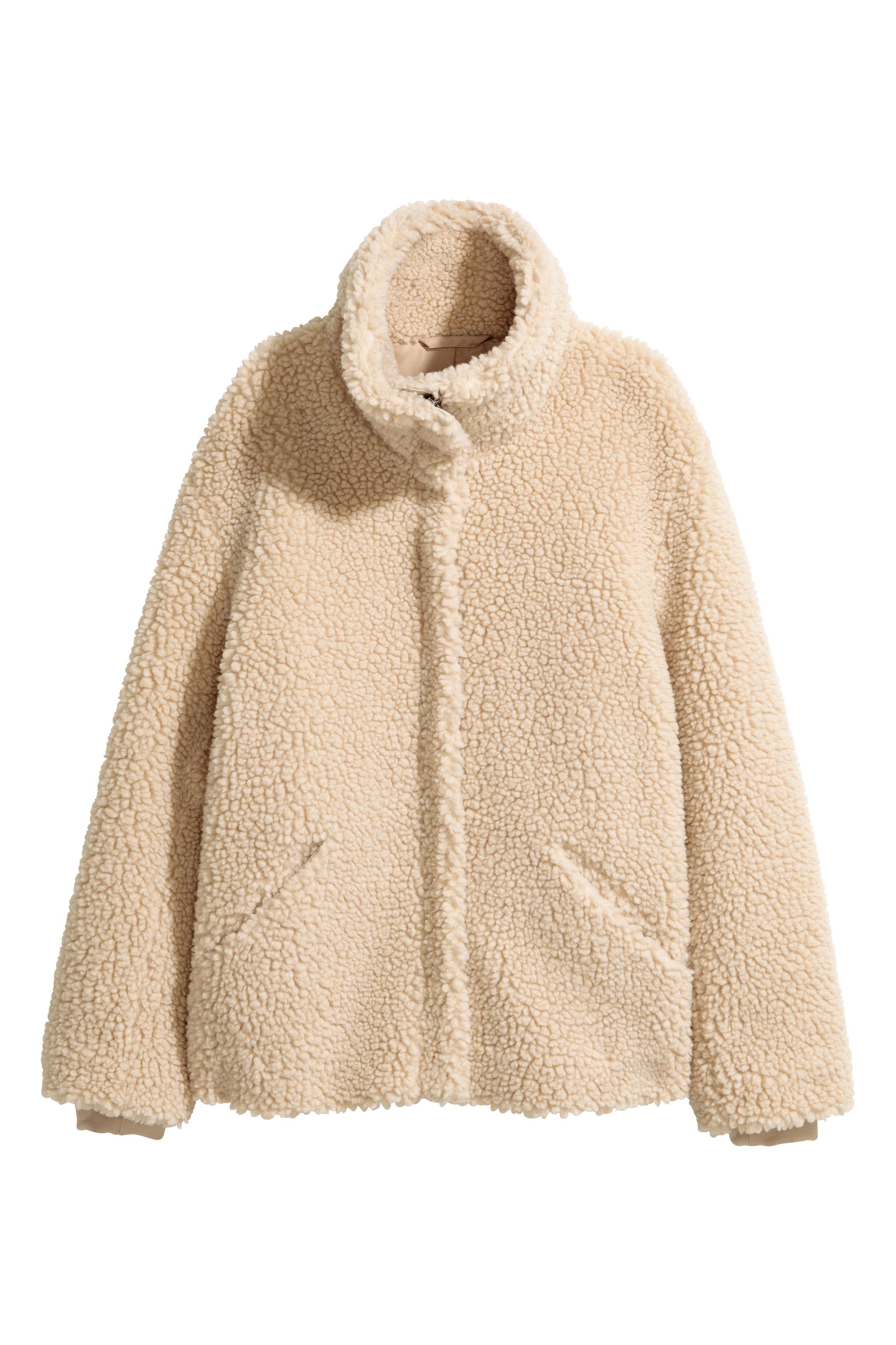 Pile jacket - Powder pink - Ladies | H&M GB