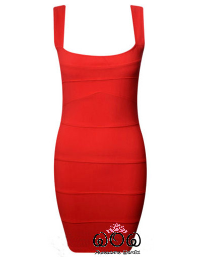 Red bandage dress sexy luxury elegant sale