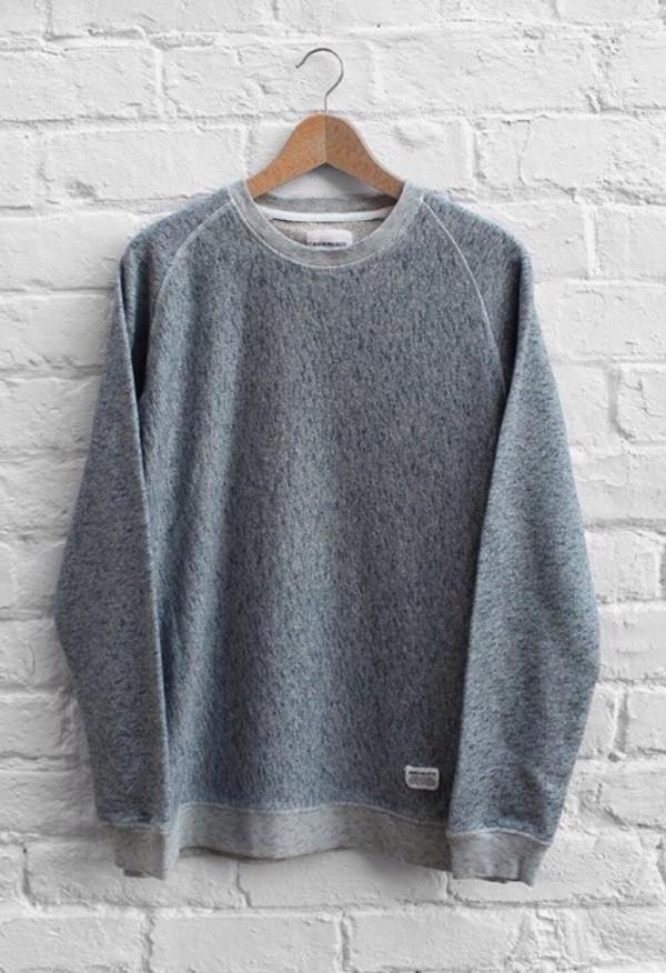 sweater oversized sweater acid wash