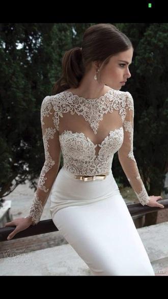 gold belt dress prom dress white dress gold belt with dresses lace dress