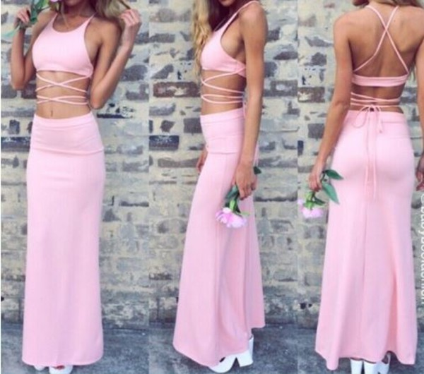 maxi dream closet couture chic couture two-piece