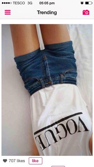 t-shirt shorts tshirt shorts tumblr shorts top vogue shirt grey t-shirt pretty shirt freshtops