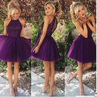 dress purple purple dress tutu dress sleeveless sleeveless dress short dress purple prom dresses sexy short dresses