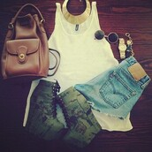 shoes,cute,jewels,bag,boots,white t-shirt,sunglasses,backpack,ariana grande,booties,wedges,heels