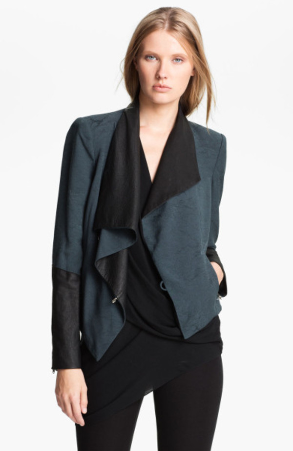 jacket helmut lang online boutique fashion boutique celebrity style celebrity style steal streetstyle couture haute couture look for less celebrity look for less designer leather jacket biker jacket helmut lang perma jacket helmut lang perma jacquard jacket