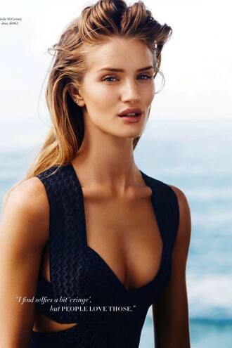 top rosie huntington-whiteley summer outfits sexy dress
