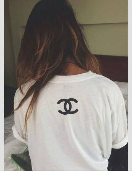 t-shirt chanel t-shirt
