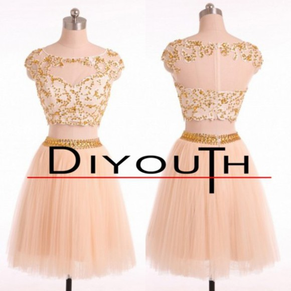 prom dress evening dress party dress short dress cap sleeve dress champagne dress short evening dress simple dress homecoming dress