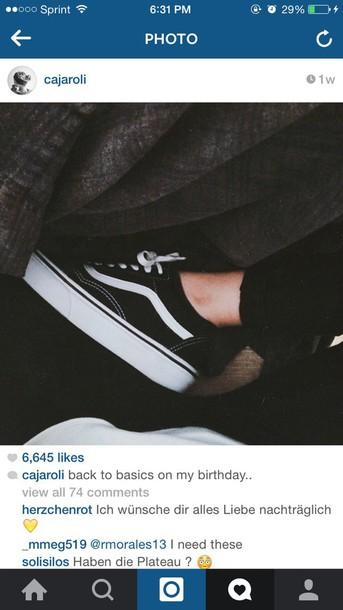 shoes vans platform shoes