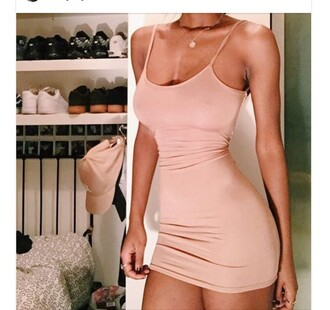 dress pink style short cool tumblr pink dress bodycon dress