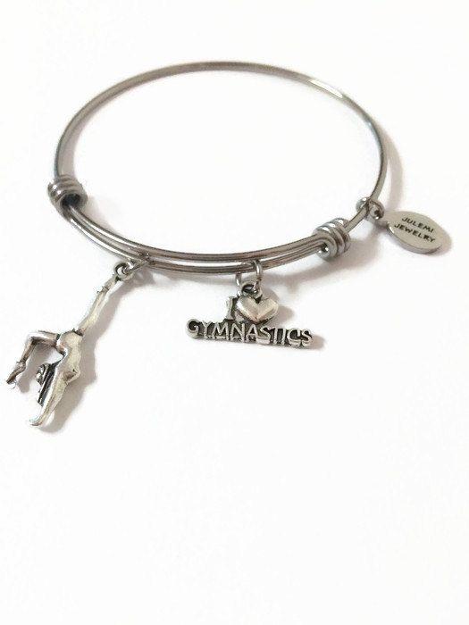 96d285260 Gymnastics Expandable Bracelet Gymnast Bangle Bracelet ...