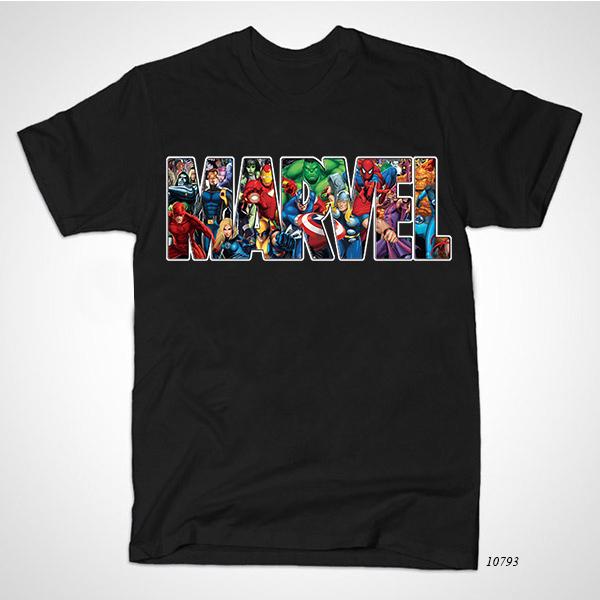 Online shop hot sale fashion marvel t shirt men iron avengers captain america hulk shirts men's clothing o