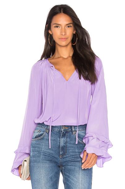 ramy brook top purple
