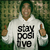 Stay Positive Hoodie (White) Hoodie - This City Is Burning Records Hoodies - Official  Online Store on District Lines