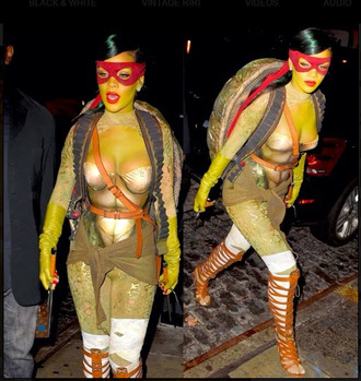 rihanna top costume halloween halloween costume ninja turtles