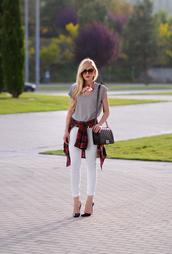 oh my vogue,blogger,t-shirt,jeans,bag,shirt,shoes