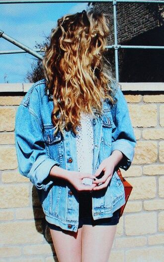 jacket denim vintage retro oversized boyfriend denim jacket