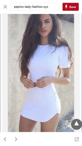 dress white bodycon high neck bodycon dress white dress