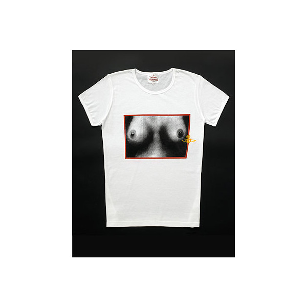 Vivienne Westwood E- commerce Tits T-shirt White