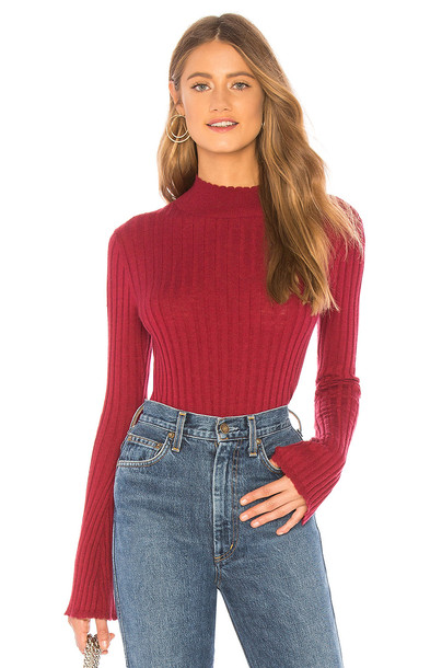 Joie Gestina Sweater in red