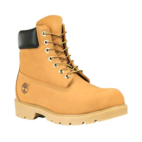 Timberland Mens Icon 6 inch Work Construction Boots Style 18094 Wheat All Sizes | eBay
