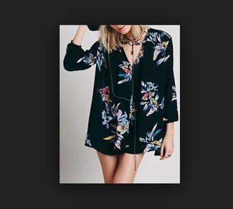 dress dress black floral long sleeve black white floral long sleeve high low black floral dress keyhole