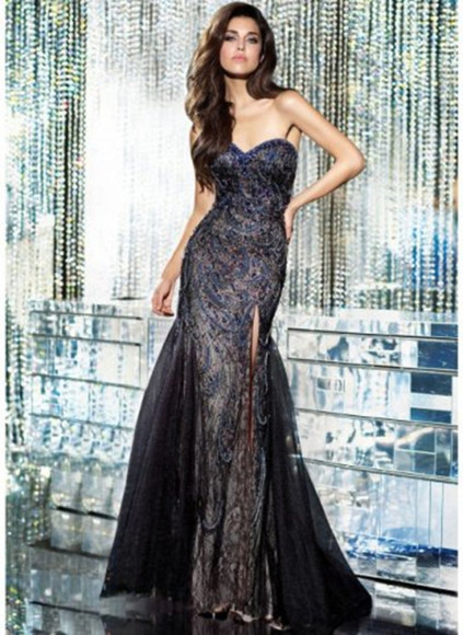 dress evening dress long prom dress prom dress black prom dress dress gowns