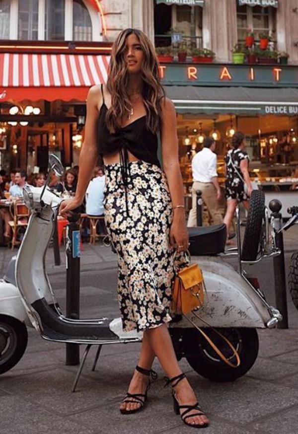 skirt top crop tops rocky barnes blogger instagram