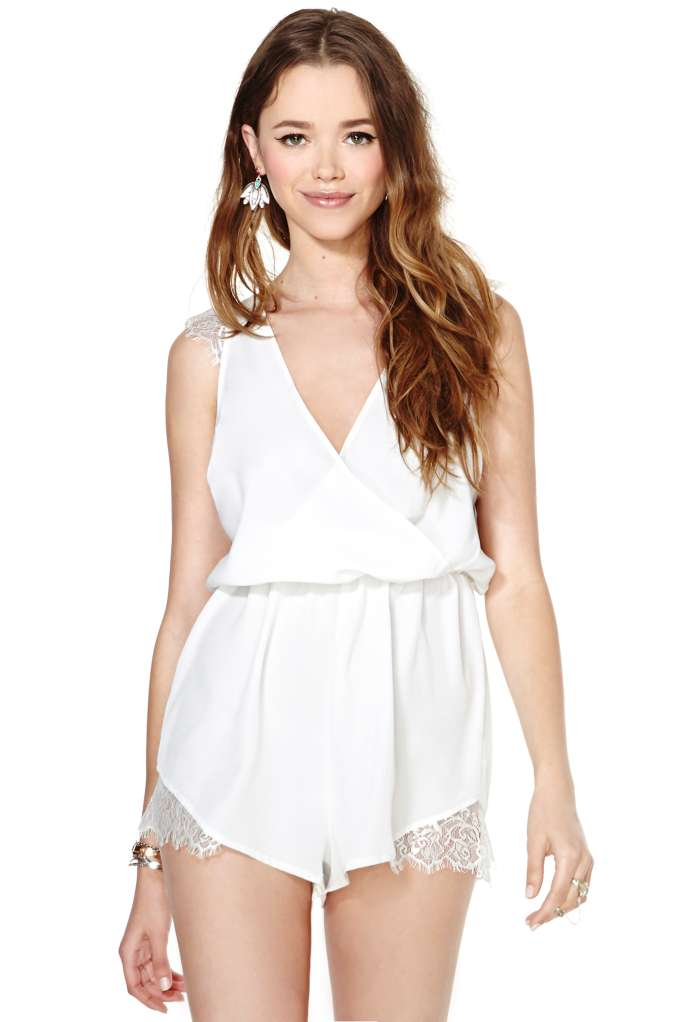 Let's Play Romper | Shop Rompers   Jumpsuits at Nasty Gal