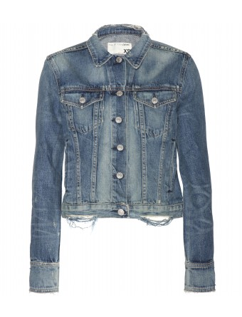 mytheresa.com - Denim jacket - Casual - Jackets - Clothing - Luxury Fashion for Women / Designer clothing, shoes, bags