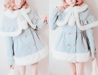 coat cute dress kawaii outfit kawaii